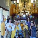 Peace Pagoda event in Leverett, MA